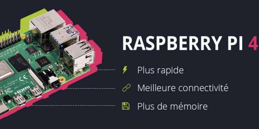 Tout savoir sur la prochaine génération de Raspberry Pi 4